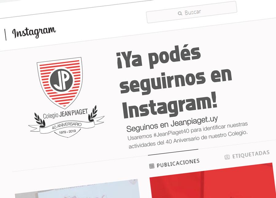 Seguinos en @Jeanpiaget.uy
