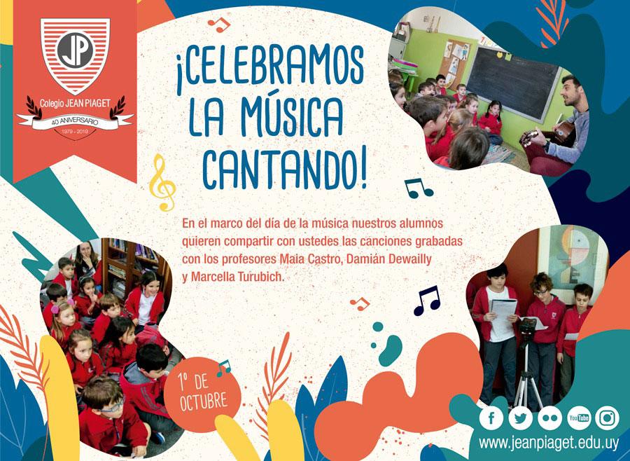 ¡Celebramos la música cantando!